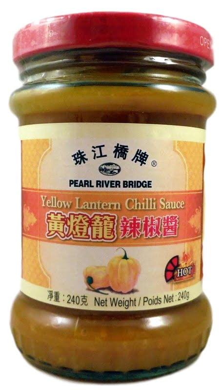 Εξερετικά Καυτερή Σάλτσα Τσίλι  Από Κίτρινες Κινέζικες Πιπεριές 240γρ