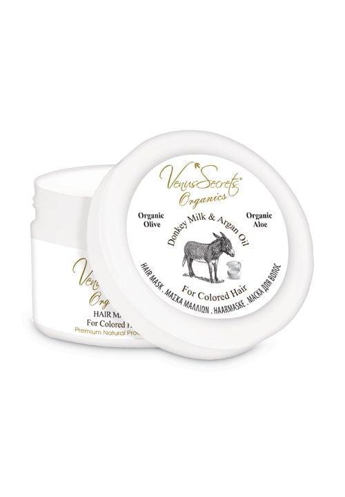 Μάσκα μαλλιών Γάλα Γαϊδούρας & Λάδι Αργκάν για Χρωματιστά Μαλλιά 280ml