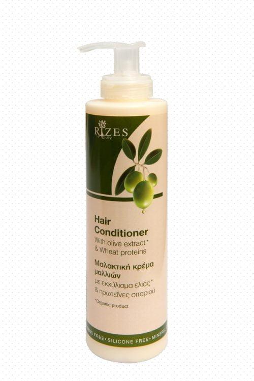 Βιολογική Μαλακτική Κρέμα Μαλλιών Με Εκχύλισμα Ελιάς & Πρωτεΐνες Σιταριού 250ml