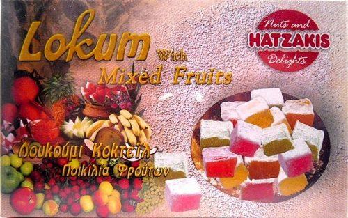 Λουκούμι Κοκτέιλ Φρούτων 300γρ