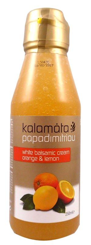 Κρέμα Βαλσαμικού Με Πορτοκάλι & Λεμόνι 250ml