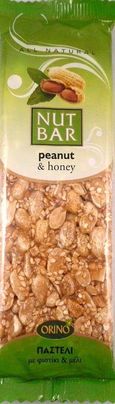 Παστέλι Με Φιστίκι & Μέλι 100γρ