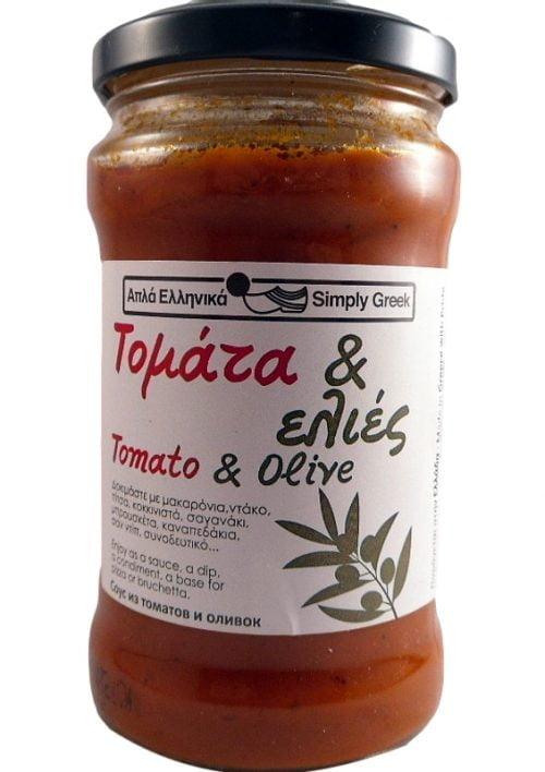 Σάλτσα Τομάτα & Ελιές 280γρ