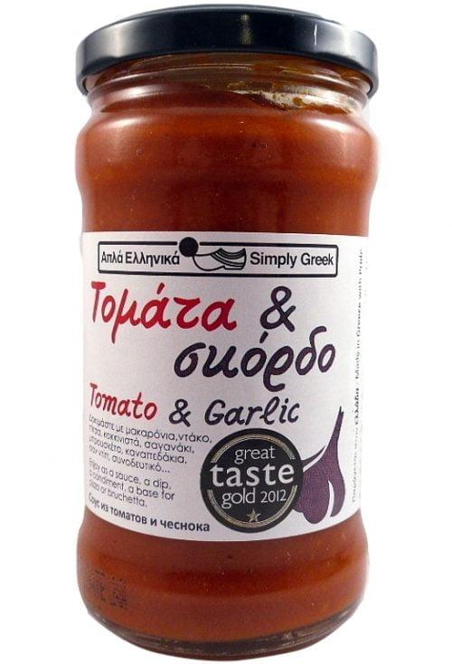 Σάλτσα Τομάτα & Σκόρδο 280γρ (Διεθνές Βραβίο Γεύσεις)