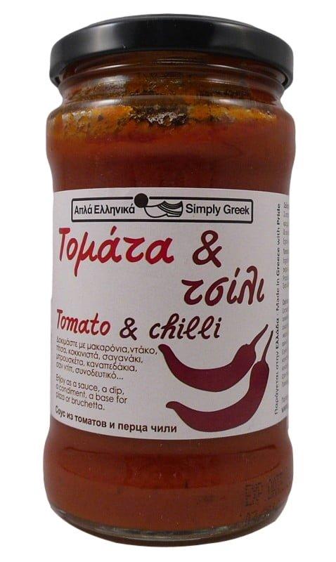 Σάλτσα Τομάτα & Τσίλι 280γρ