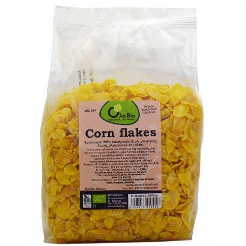 Corn flakes  ΒΙΟ 250gr