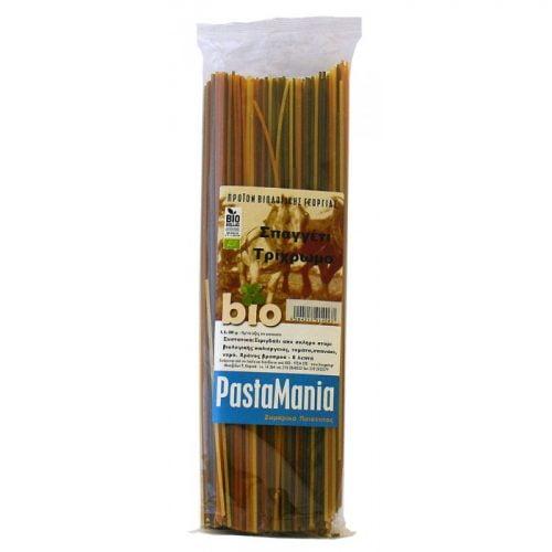 Spaghetti tricolore Pastamania ΒΙΟ 500gr