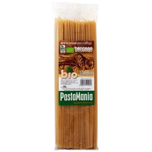 Spelt spaghetti white Pastamania ΒΙΟ 500gr