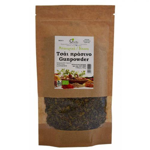 Green tea Gunpowder ΒΙΟ 100gr