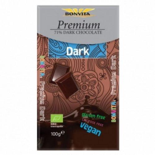 Dark chocolate 71% Bio 100gr