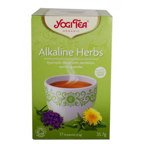Yogi tea alkaline herbs ΒΙΟ 35.7gr