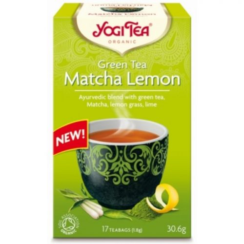 Yogi tea green matcha lemon ΒΙΟ 30
