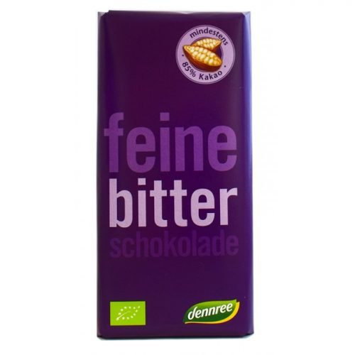 Bitter chocolate 85% ΒΙΟ 100gr