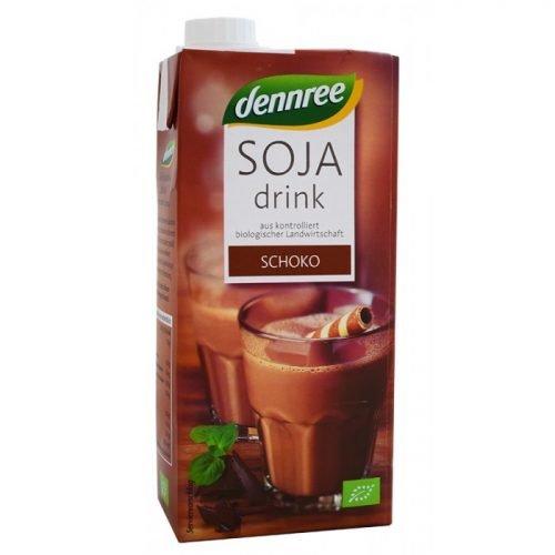 Soya drink chocolate ΒΙΟ 1LT