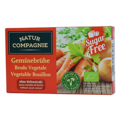 Vegetable cubes natural  ΒΙΟ 84gr