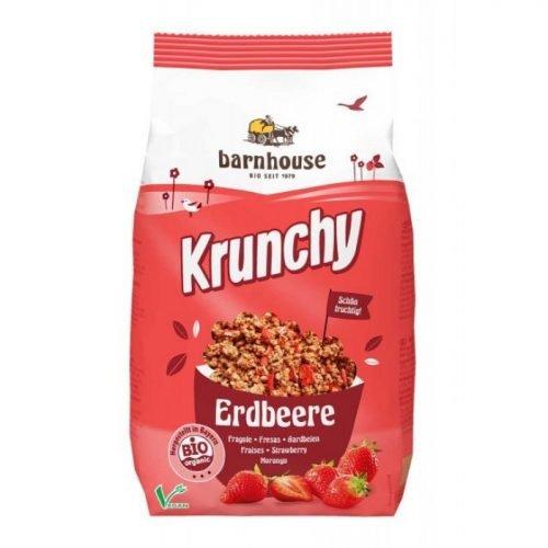 Μούσλι krunchy φράουλα ΒΙΟ 375gr