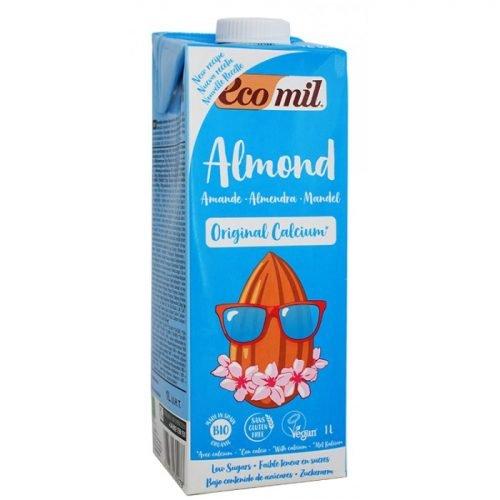 Almond drink calcium + agave ΒΙΟ 1LΤ