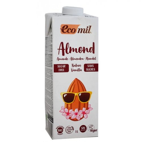 Almond drink vanilla ΒΙΟ 1LT