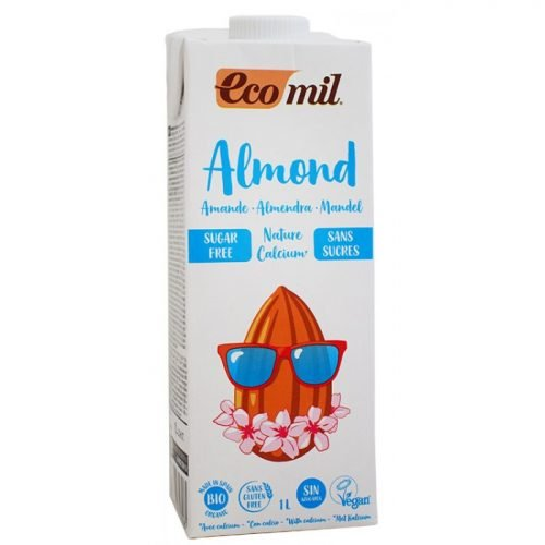 Almond drink natural+calcium sugar free ΒΙΟ 1LΤ
