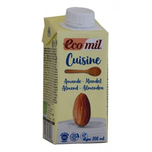 Almond cooking cream lactose free ΒΙΟ 200ml