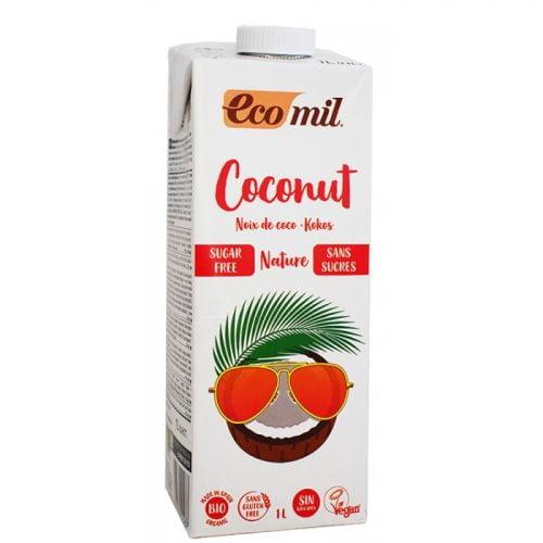 Coconut drink natural sugar free  ΒΙΟ 1LT