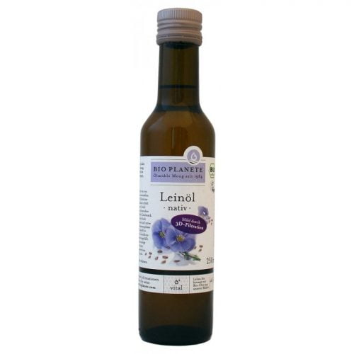 flaxseed oil debittered ΒΙΟ 250ml