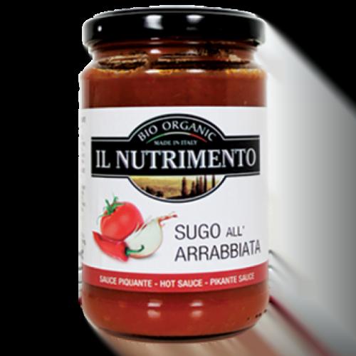 Tomato sauce arrabiata (hot) ΒΙΟ  280gr
