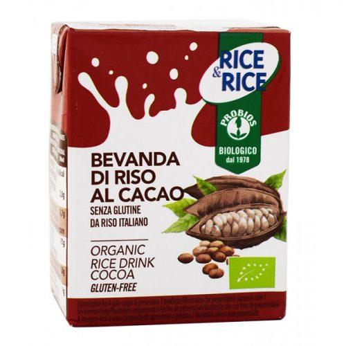 Rice drink chocolate mini ΒΙΟ 200ml