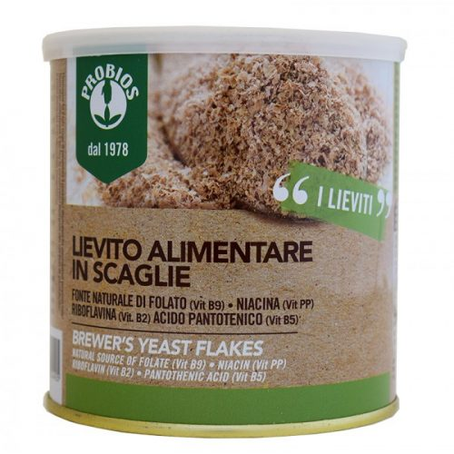 Brewer`s yeast in flakes 125gr