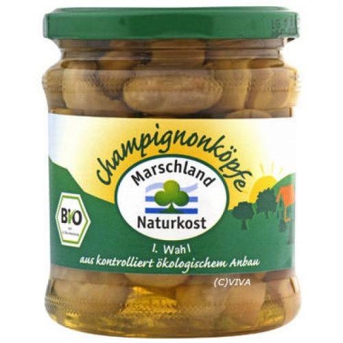 Mushrooms whole ΒΙΟ  330g