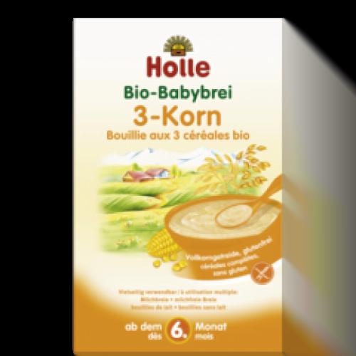 3 grain porridge from 4 months ΒΙΟ 250gr