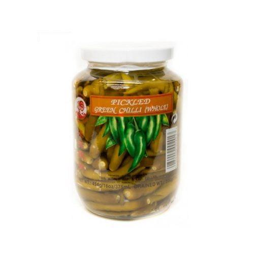 Πράσινες Πιπεριές Τσίλι ολόκληρες Τουρσί 227gr