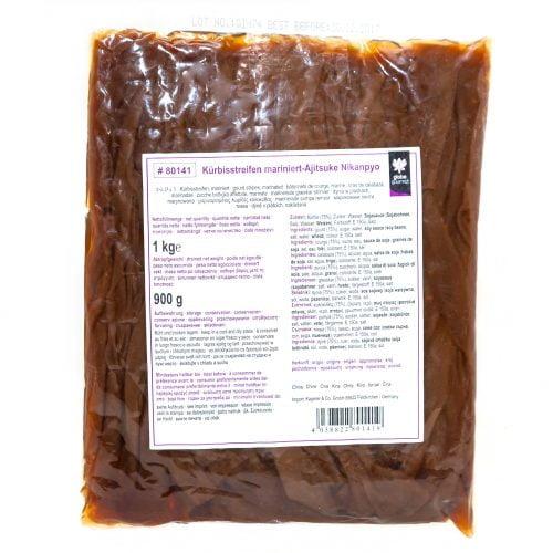 Λωρίδες Κολοκύθας Τουρσί για Σούσι 1kg