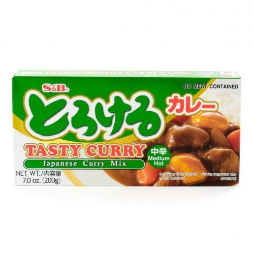 Μείγμα για Ιαπωνικό Κάρρυ σε Κύβους (Μέτρια Καυτερό) 200 g (10 μερίδες / συσκευασία)