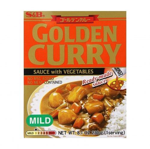Κάρρυ Σάλτσα με Λαχανικά απαλό 230gr