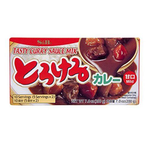Μείγμα για ιαπωνικό κάρρυ(ήπια γεύση) 200gr (10 μερίδες / συσκευασία)