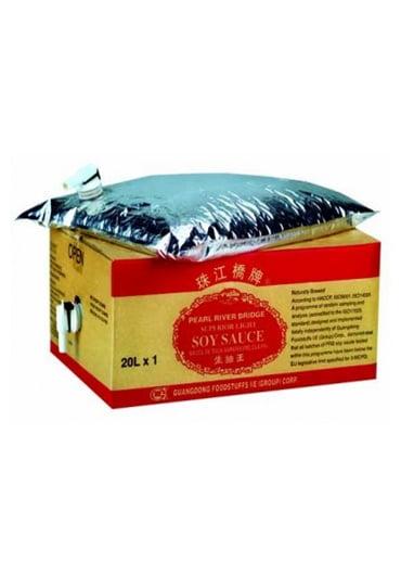 Ανοιχτόχρωμη Σάλτσα Σόγιας Εξαιρετικής Ποιότητας 20 Lt (23.5kg)