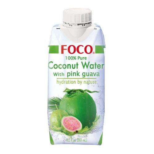 Νερό Καρύδας με Ροζ Γκουάβα 330ml