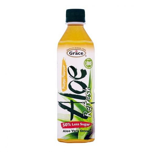 Ποτόμε Αλόη Βέρα Γεύση Μάνγκο 50% Λιγότερη Ζάχαρη 500ml