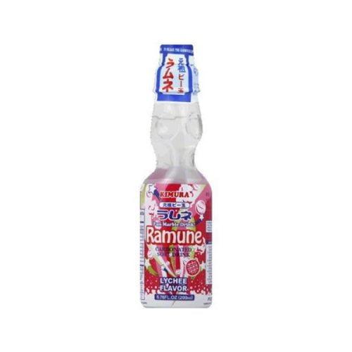 Ανθρακούχο Αναψυκτικό – Λεμονάδα Ramune με Γεύση Λίτσι 200 ml