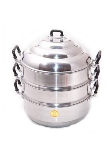 Αλουμινένιο Σκεύος για Μαγείρεμα στον Ατμό 28 εκ.