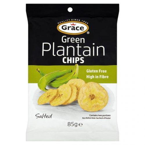 Τηγανητά Αλατισμένα Τσιπς από Μπανάνες 85gr