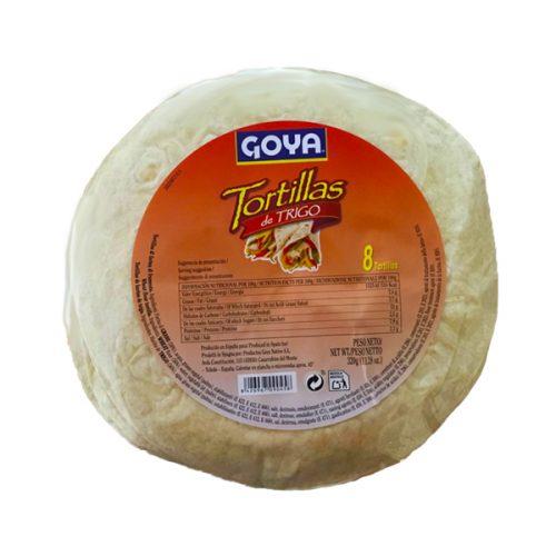 Τορτίγιες Σίτου 20 εκ. 8τεμ. (320gr)