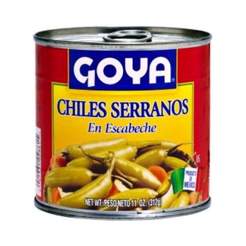 Serrano Τσίλι Τουρσί 312gr