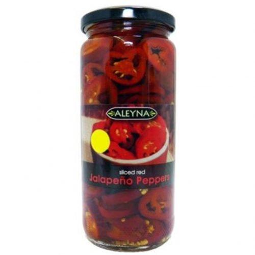 ΚόκκινεςΠιπεριές Χαλαπένιος σε Φέτες 480gr