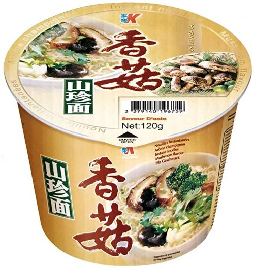 Στιγμιαία Νουντλς με Γεύση Μανιταριών 120 g