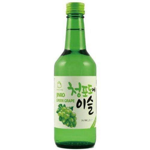 Κορεάτικο Ποτό Soju  με Πράσινο Σταφύλι 360ml