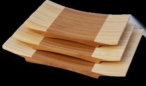 Πιάτο μπαμπού για σούσι 27 X 18 X 3CM